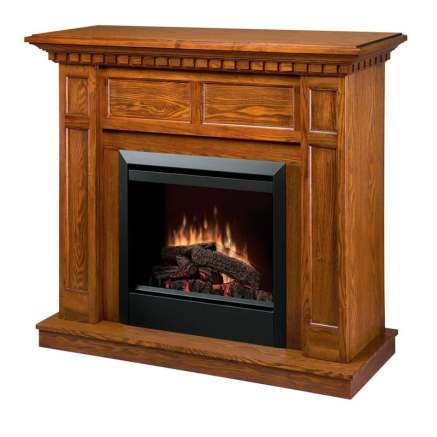 The Dimplex DFP4743O Caprice Electric Fireplace offers all the appeal of a real fire without any of the hassle.