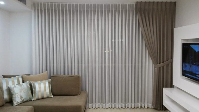 Image of blinds and curtains.