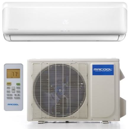 Image of MRCOOL DIY-12 12000 BTU DIY Single Zone Mini Split with Heat Pump