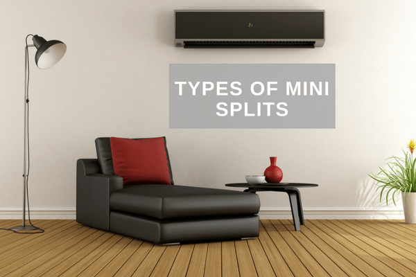 Types Of Mini Splits A Guide
