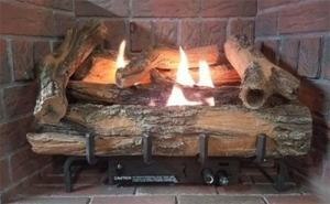 Everwarm gas log set