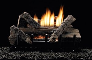 White Mountain Hearth gas logs