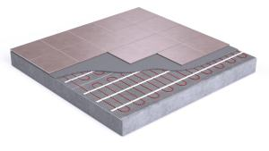Image of radiant underfloor heat