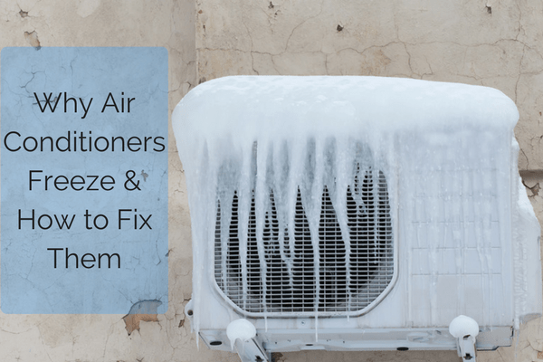 What causes and AC to freeze