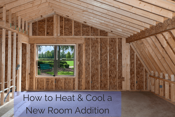 Options for heating and cool a room addition