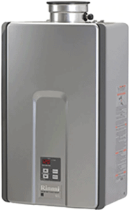 Rinnai RLX94iN High Efficiency Plus Non-Condensing, 9.8 GPM Tankless Hot Water Heater