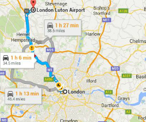 Best Way to Reach Luton Airport from Central London