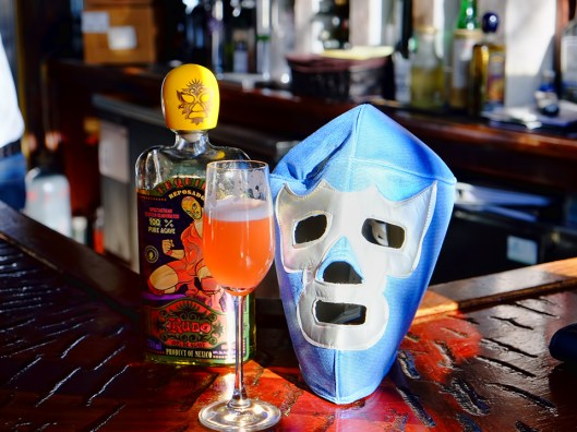 Mexican Mimosa with Mask