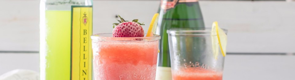 Strawberry Limoncello Slush Recipe