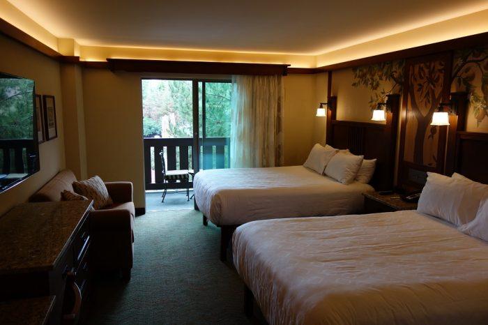 Review of Refurbished Rooms at Disneys Grand Californian