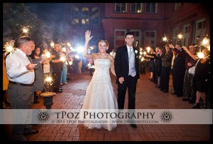 City Lites 1840's Ballroom Wedding