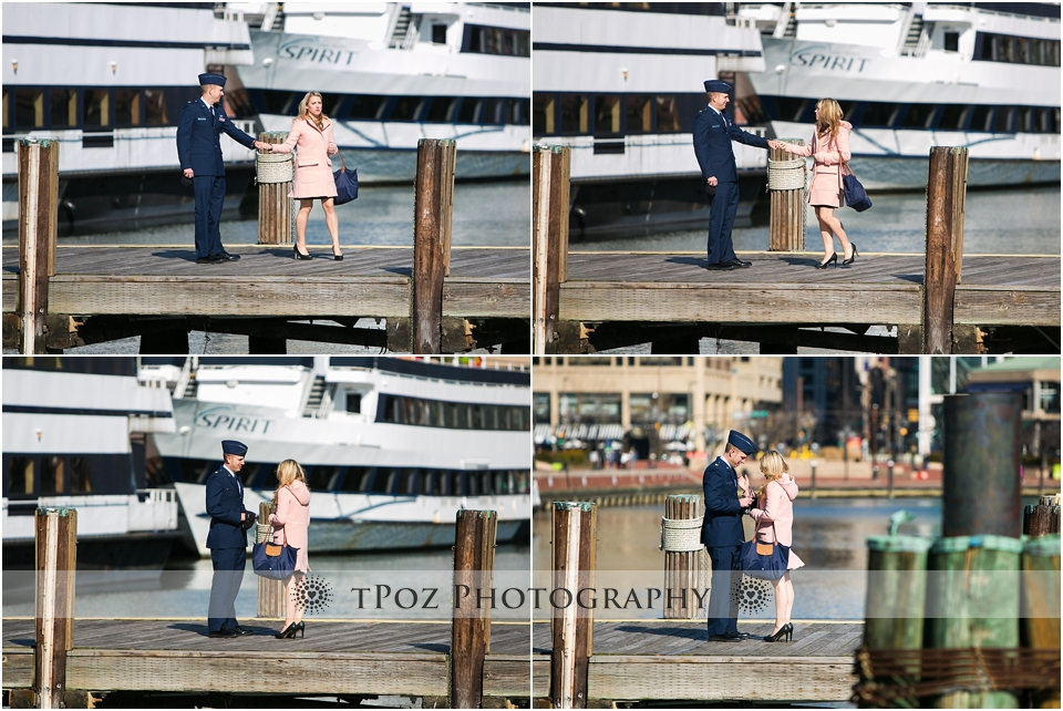 Baltimore Engagement Proposal Photographer