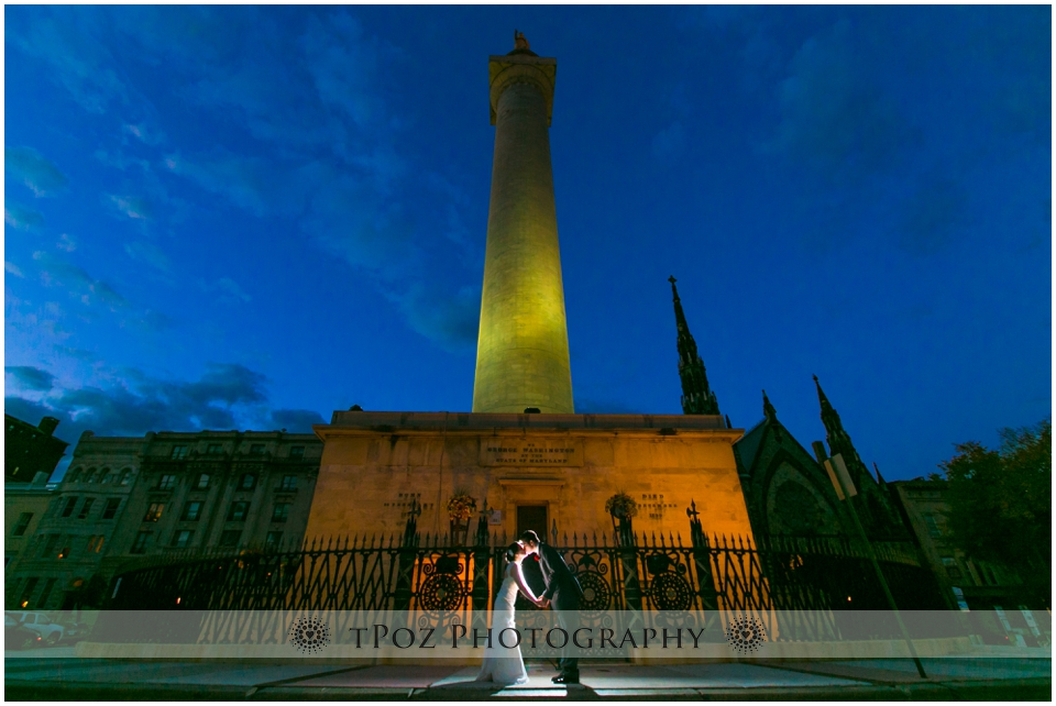 Mount Vernon Washington Monument Wedding Photos