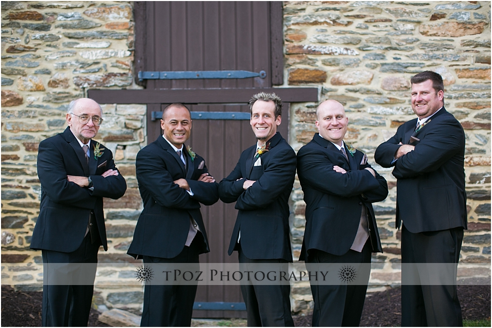 Waverly Mansion Wedding Groomsmen