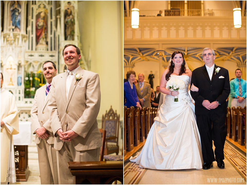 St. Mary's Church Annapolis Wedding Ceremony