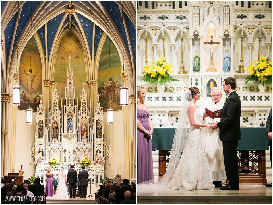 St. Mary's Annapolis Wedding Ceremony
