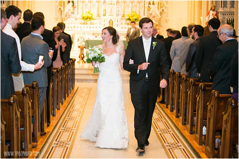 St. Mary's Annapolis Wedding Ceremony