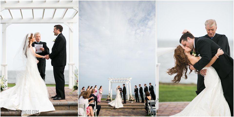 Rehoboth Beach Country Club Wedding Ceremony