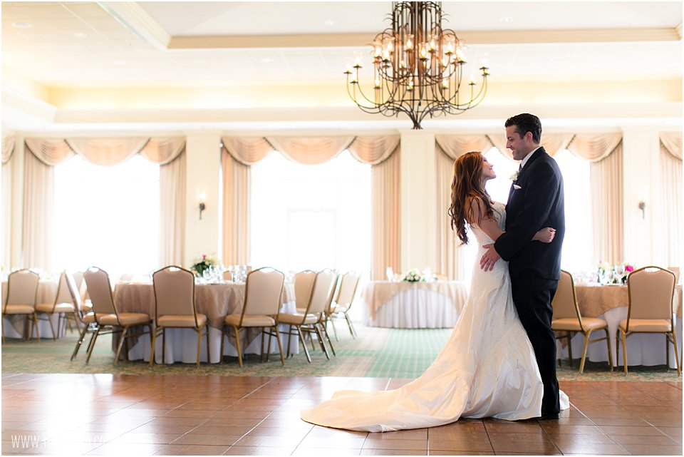 Rehoboth Beach Country Club Wedding Reception