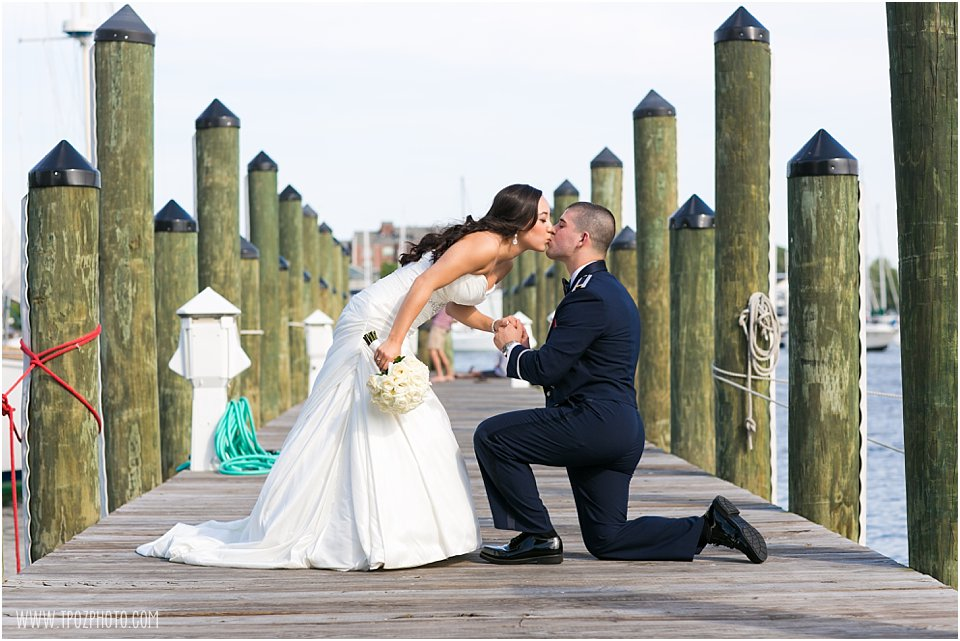 Annapolis Docks Wedding Photos