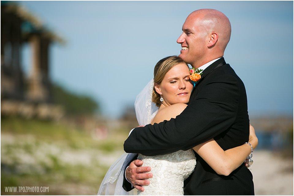 First Look at Hurlburt Field Wedding