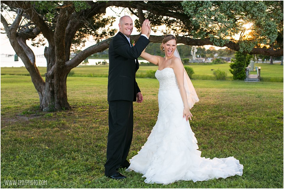 Soundside Club at Hurlburt Field Wedding Photos