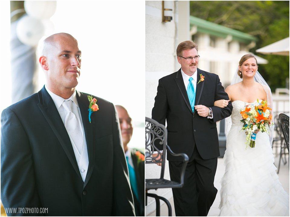 Soundside Club Wedding Ceremony
