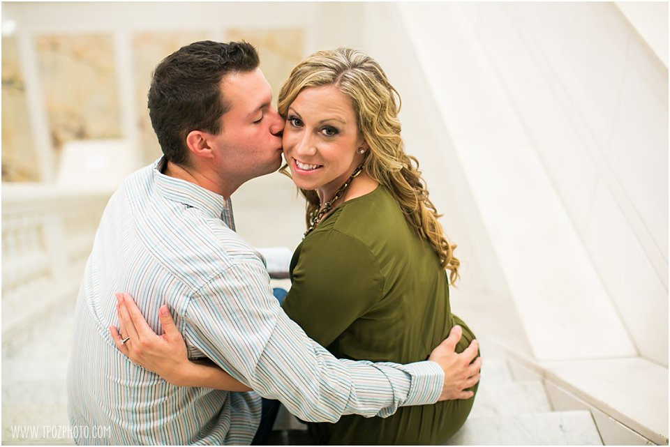 Hotel Monaco Baltimore Engagement Session