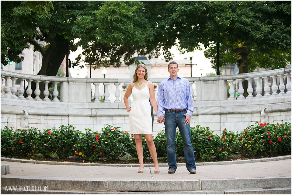 Mount Vernon Engagement Session
