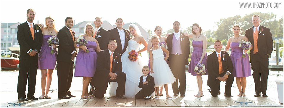 Ocean Pines Yacht Club Wedding Photos