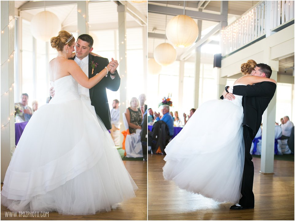 Ocean Pines Yacht Club Wedding First Dance