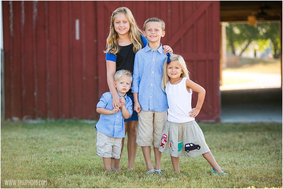 Kinder Farm Park Family Portraits
