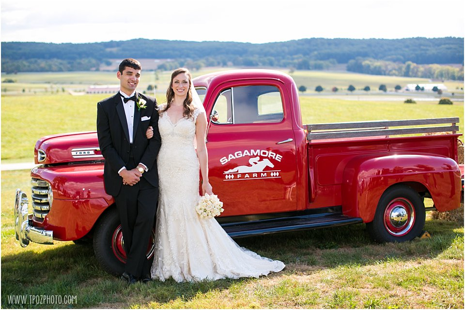 Sagamore Farm Wedding