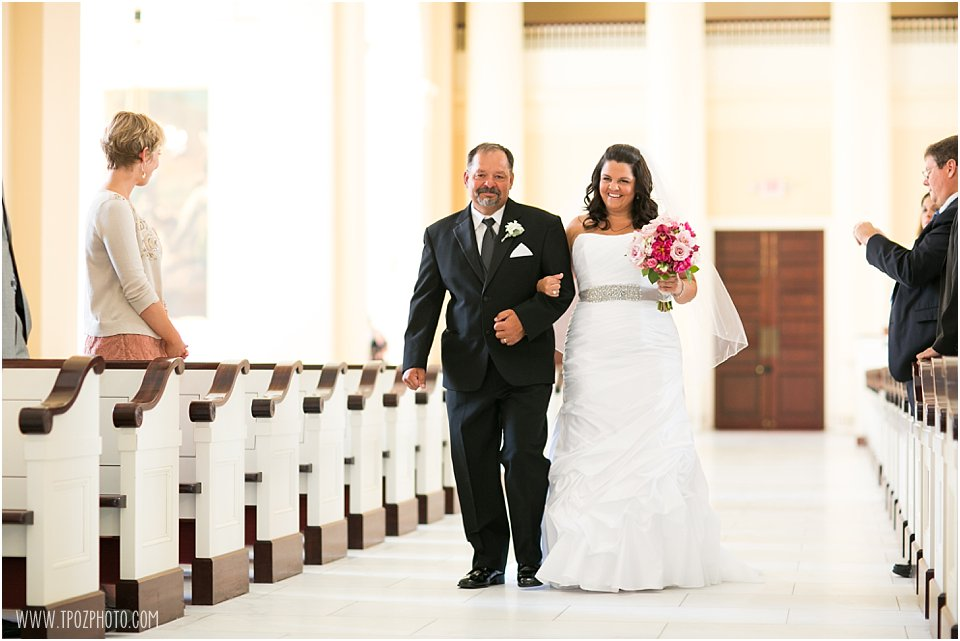Baltimore Basilica Wedding Ceremony