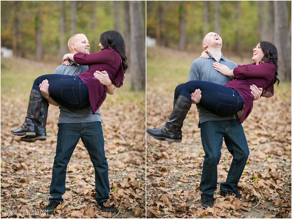 Patapsco Valley State Park Engagement Photos
