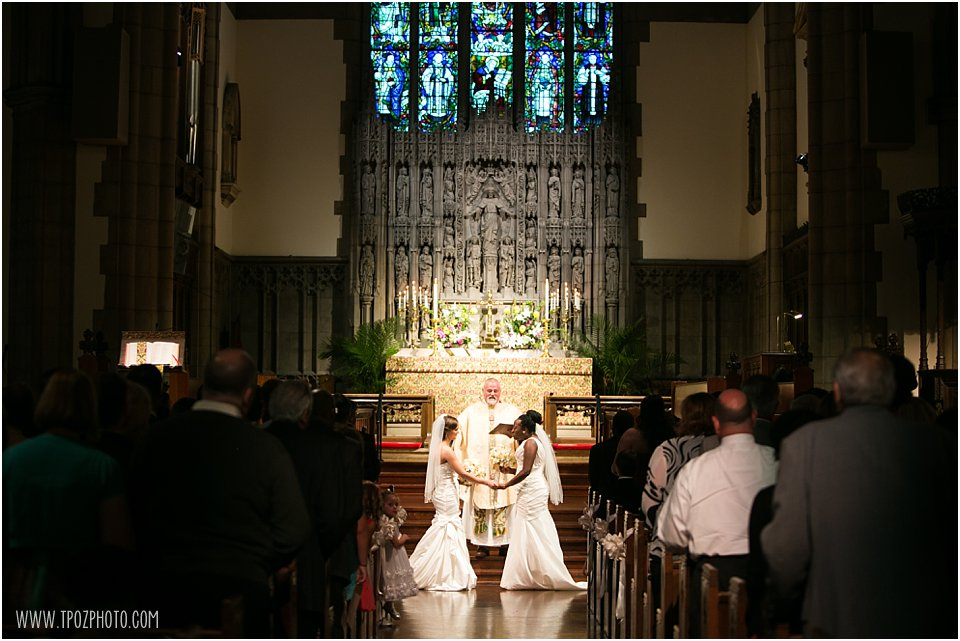 Same-sex wedding ceremony
