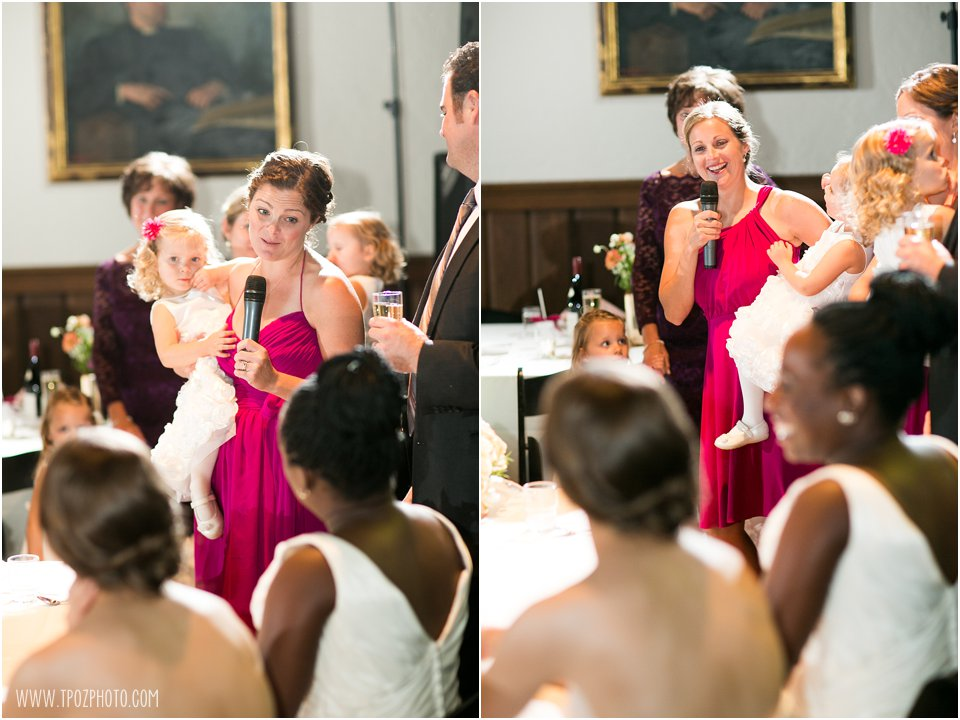 Same-sex wedding reception
