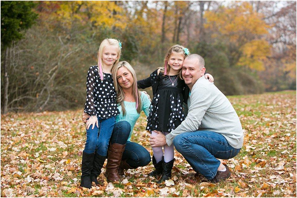Quiet Waters Park Family Portrait