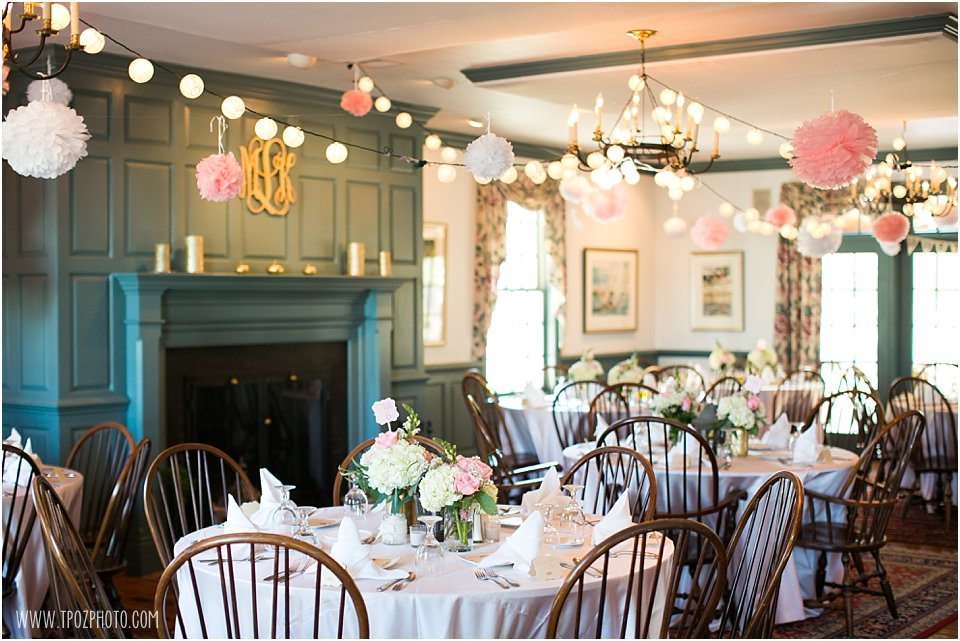 Osprey Point Inn Wedding Reception