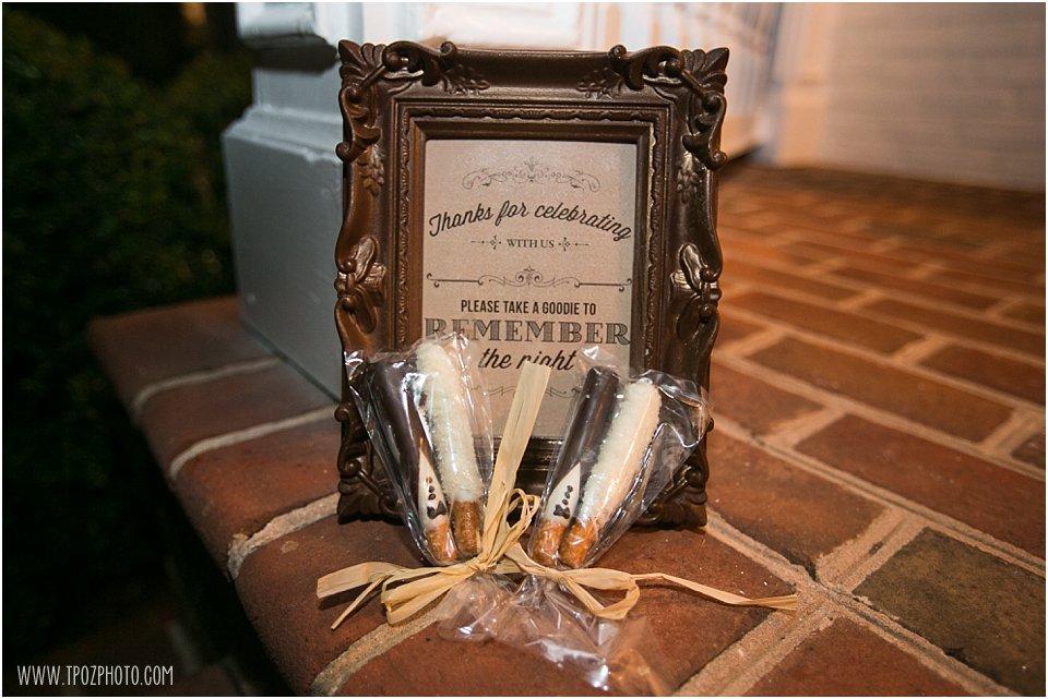 Wedding Reception cookie bar