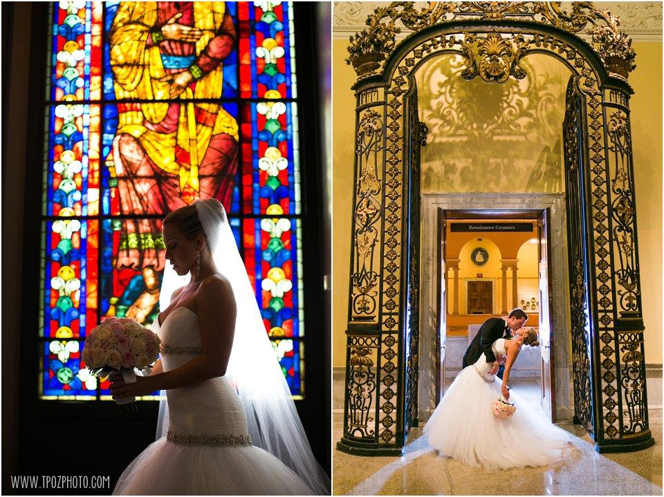 Walters Art Museum Wedding Photos