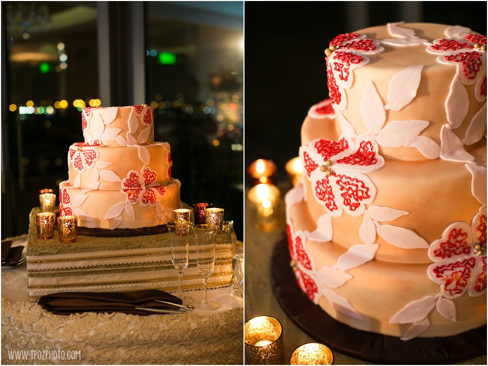 Sugarbakers Cake Wedding Reception at the Four Seasons Baltimore
