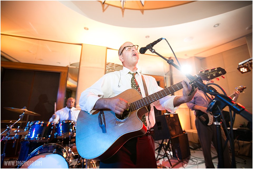 Captain Jack Band performs at a Wedding Reception at the Four Seasons Baltimore
