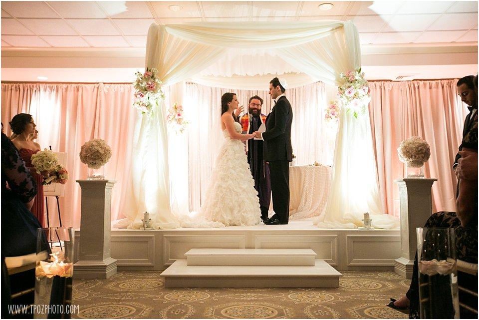 Jewish Wedding Ceremony at Suburban Club