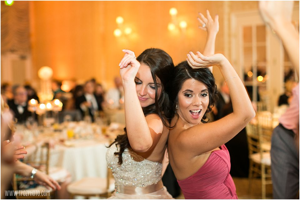 Suburban Country Club Wedding Reception