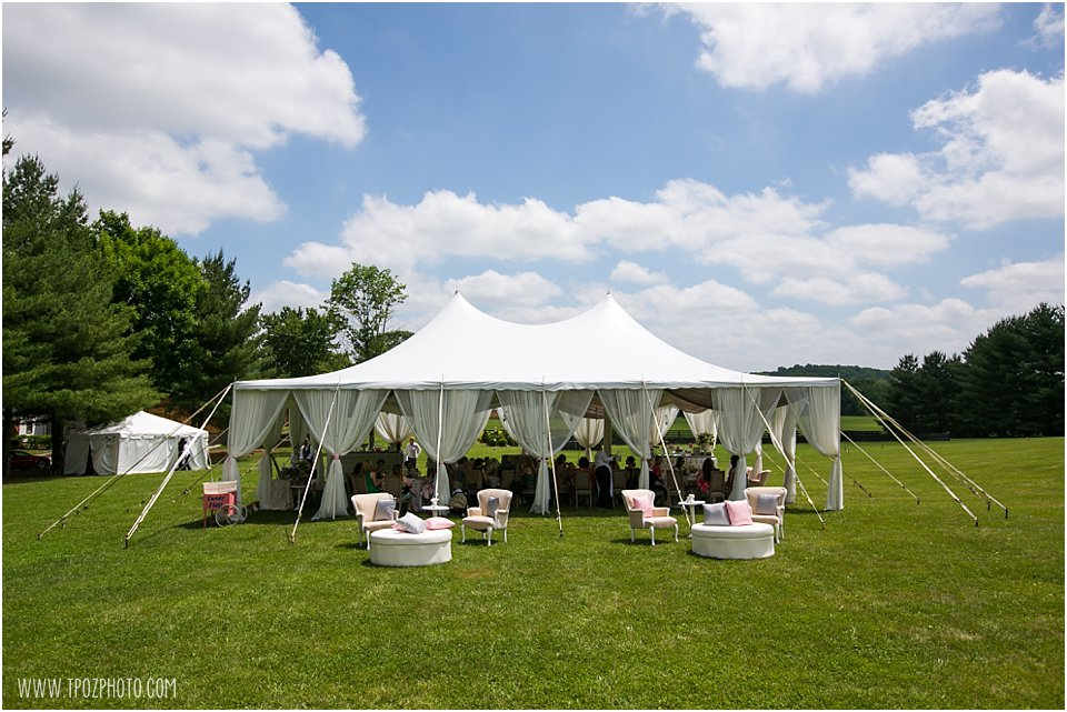 Tented Baltimore Baby Shower