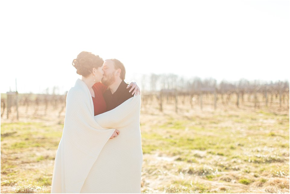Galloping Goose Vineyards Engagement Session