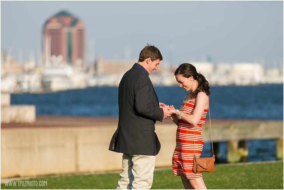 Fells Point Engagement Proposal