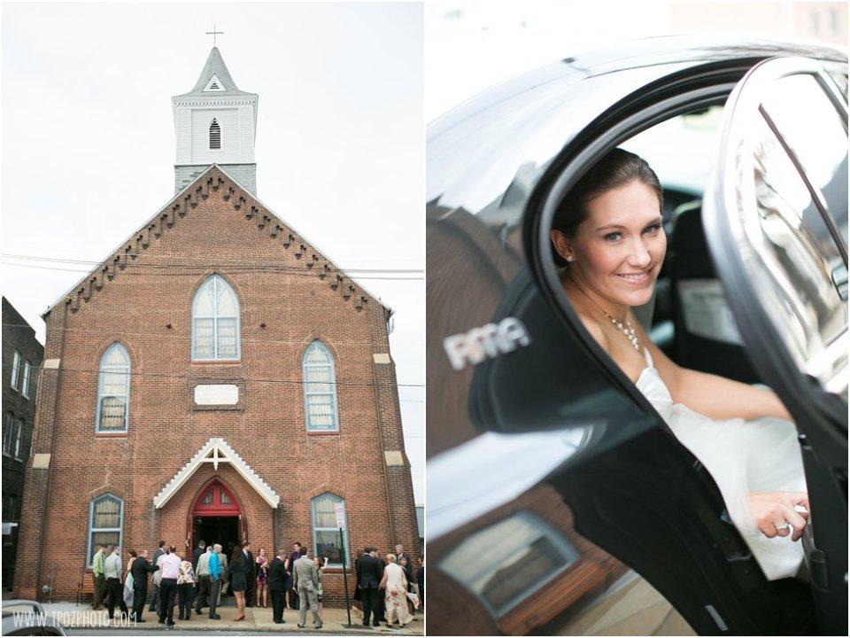 Christ Church Baltimore Wedding Ceremony