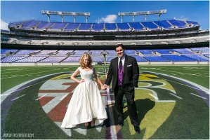 Ravens Stadium Wedding